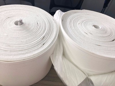 白色帆布输送带  帆布输送带材质