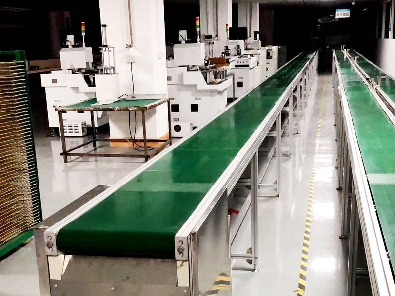 电子厂包装生产线,电子产品组装生产线