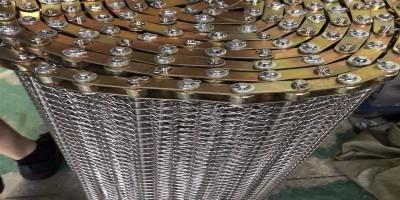 不锈钢链条式网带的做法和注意事项