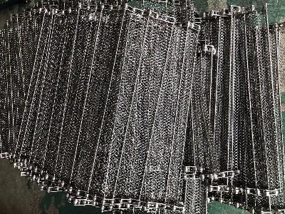 链杆式网带 不锈钢链条式网带定制