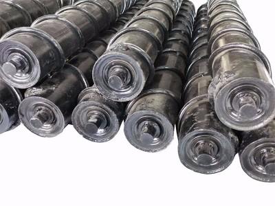 托辊 不锈钢滚筒输送带 橡胶托辊  辊筒厂家