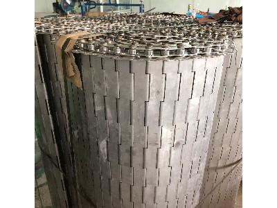 不锈钢链板式输送带的使用领域