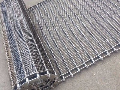 不锈钢链条式网带