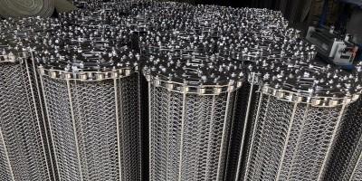 东莞生产链条式网带 链杆式网带厂家
