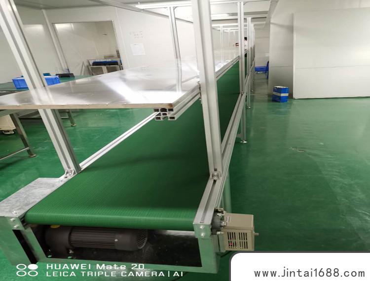 东莞流水线平面输送机,现代工业生产滚筒输送机