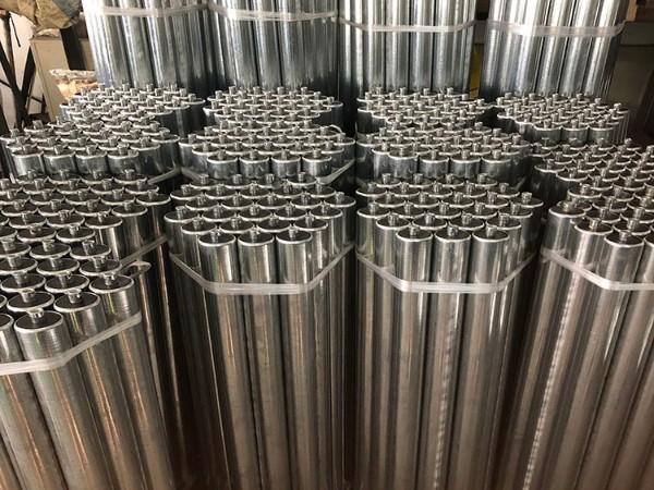 工厂直销无动力滚筒 输送机滚筒不锈钢滚筒 输送带传送滚筒定制