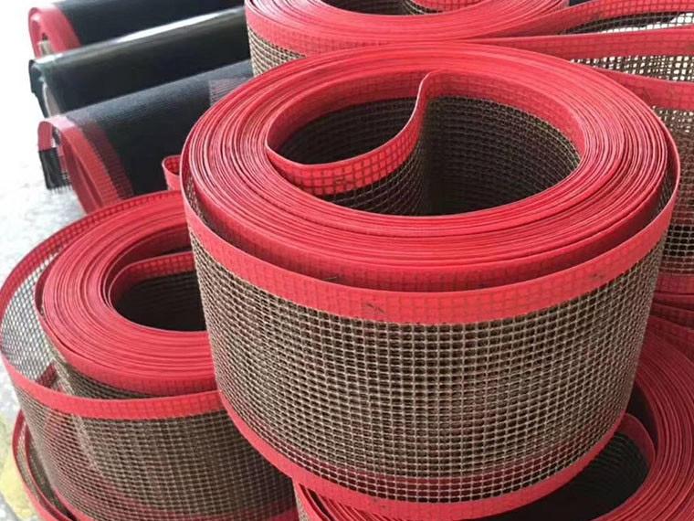 特氟龙网带 粘合带,高温铁氟龙输送网带厂家