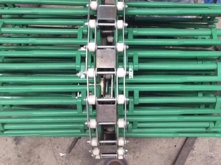 塑料楦架输送带 不锈钢链条 链轮输送链条
