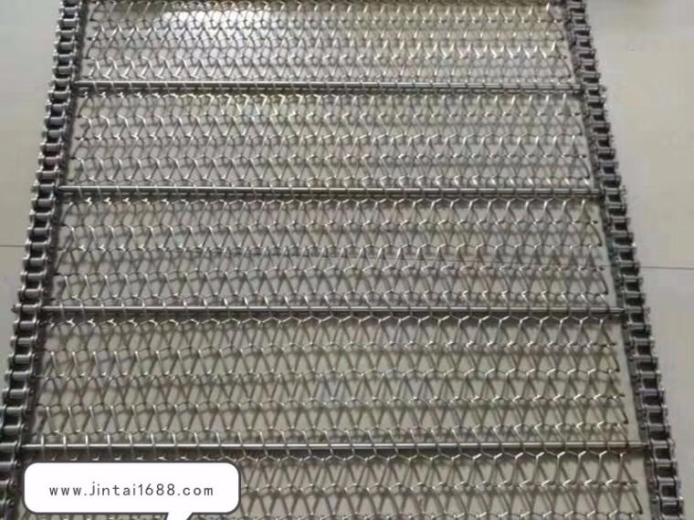 链条式速冻网带的特点及常见设计方案