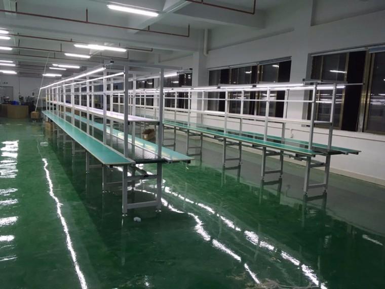 电子厂流水线